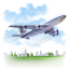 Travel-Airplane-icon